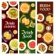 Irish Food Ireland Cuisine Cartoon Vector Banners - GraphicRiver Item for Sale