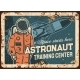 Astronaut Training Center Vector Rusty Metal Plate - GraphicRiver Item for Sale