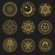 Occult Occultism Alchemy and Astrology Signs - GraphicRiver Item for Sale