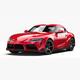 Toyota Supra 2020 - 3DOcean Item for Sale