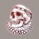 Skull with Elegant Diadem - GraphicRiver Item for Sale
