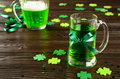 set with pint of green beer - PhotoDune Item for Sale