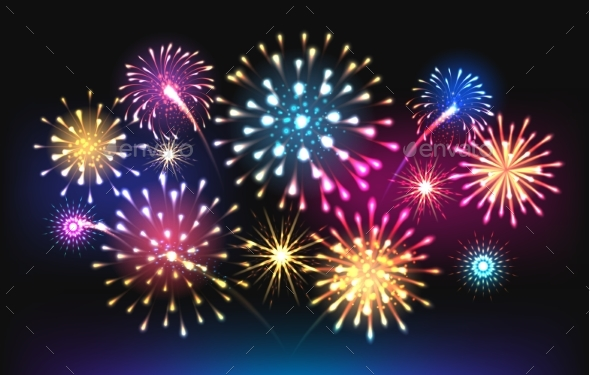 Night Salute Fireworks