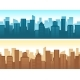 Buildings Flat Cityscape - GraphicRiver Item for Sale