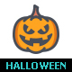 25 Halloween Line with Color Icons - GraphicRiver Item for Sale