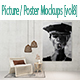 Picture / Poster Mockups [vol8] - GraphicRiver Item for Sale