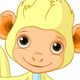 Happy little Monkey - GraphicRiver Item for Sale