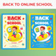 Back to Online School Template - GraphicRiver Item for Sale