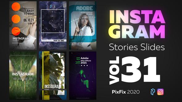 Instagram Stories Slides Vol. 31