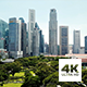 Aerial View Of Singapore CBD - VideoHive Item for Sale