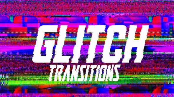 Drag-N-Drop Glitch Transitions