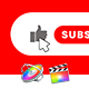 Youtube Subscribe Elements | FCPX - VideoHive Item for Sale