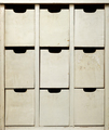 Old wooden cabinet, front view - PhotoDune Item for Sale