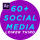 Social Media Lower Third - VideoHive Item for Sale