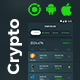 Cryptocurrency Management Android App Template+ iOS App Template| IONIC 5 | Vertulio - CodeCanyon Item for Sale