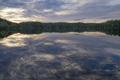 Evening mood lake Falkesjon - PhotoDune Item for Sale