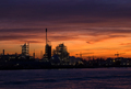 Chemical factory along the river Merwede - PhotoDune Item for Sale