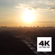 Aerial View of Singapore Heartland at Sunset - VideoHive Item for Sale