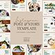 Modern Food Instagram Template - GraphicRiver Item for Sale