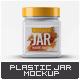 Plastic Square Jar Mock-Up v.2 - GraphicRiver Item for Sale