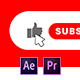 Youtube Subscribe Elements - VideoHive Item for Sale