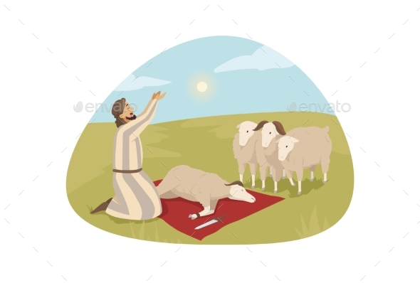 Bible Religion Character Sacrificial Offering