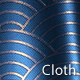 Blue Glossy Fabric Texture 7 - VideoHive Item for Sale