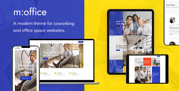 MultiOffice – Coworking Space Theme