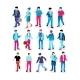People in Different Poses for Web - GraphicRiver Item for Sale