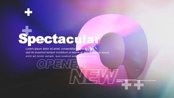 New Spectacular Opener