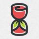 Rose Hourglass Logo - GraphicRiver Item for Sale