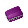 violet suitcase isolated over a white - PhotoDune Item for Sale