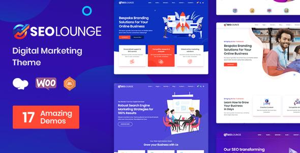 SEO Lounge – Digital Marketing Theme