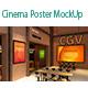 Cinema Poster MockUp - GraphicRiver Item for Sale