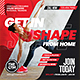 Online Gym Classes Flyer - GraphicRiver Item for Sale