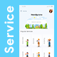 Home Service Finder & Provider App UI Set | Handyzone - GraphicRiver Item for Sale