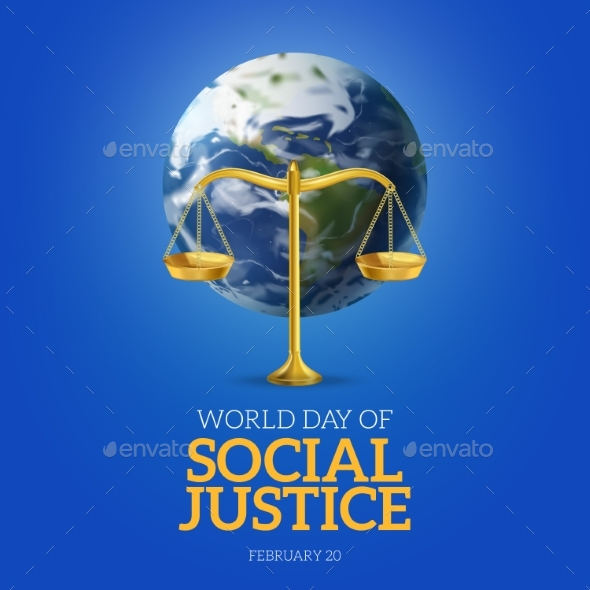 World Day Of Social Justice Poster