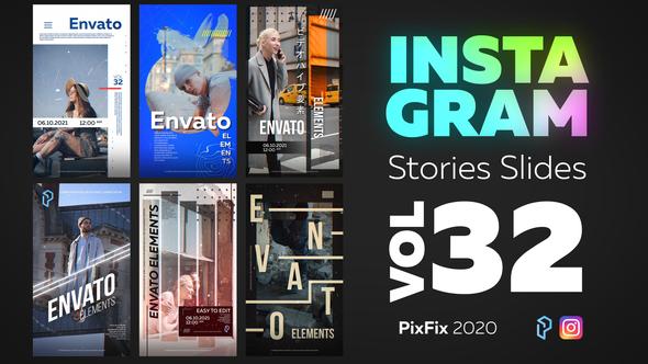 Instagram Stories Slides Vol. 32