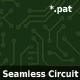 Seamless Circuit Board Pattern in 5 colors - GraphicRiver Item for Sale