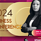 Business Conference Flyer Template - GraphicRiver Item for Sale
