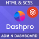Dashpro - HTML Admin Template - ThemeForest Item for Sale