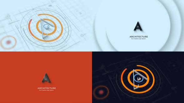 Architectures 3D Logo