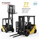 Clark S20 53 Forklift Truck - 3D Printing Model