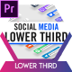 Modern Social Media Lower Thirds - VideoHive Item for Sale