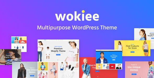 Wokiee - Multipurpose WooCommerce WordPress Theme