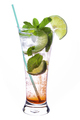 Mojito cocktail on white - PhotoDune Item for Sale