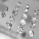 Diamonds cuts 17 - 3DOcean Item for Sale