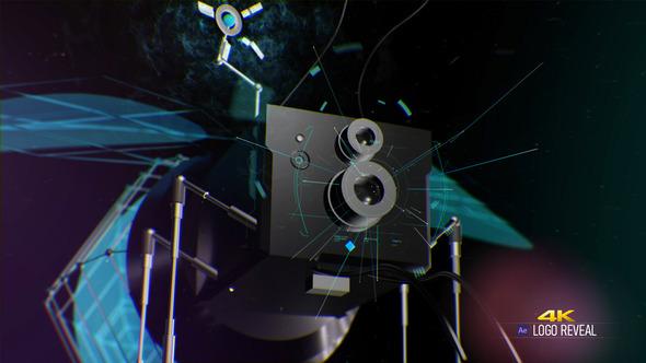 Nano Bot Hi-Tech 4K Logo Reveal