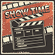Retro Cinema Movie TV Show Poster - GraphicRiver Item for Sale