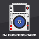 Digital DJ Business Card Template - GraphicRiver Item for Sale